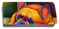 Daydreamer - Colorful French Bulldog Portable Battery Charger