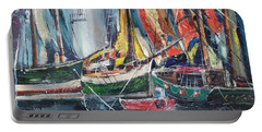 Colorful Harbor Portable Battery Charger