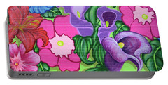 Colorful Mural Portable Battery Charger