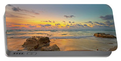 Colorful Seascape Portable Battery Charger