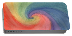 Colorful Wave Portable Battery Charger
