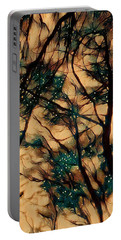 Portable Battery Charger featuring the digital art  Colors And Spirit  by Lucia Sirna