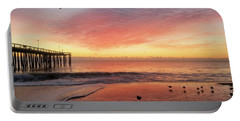 Portable Battery Charger featuring the photograph Colors Of Dawn by Robert Banach