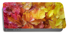 Colors Of Fall - Red To Yellow Portable Battery Charger