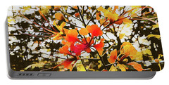 Colourful Leaves Portable Battery Charger