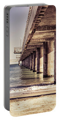 Columns Of Pier In Burgas Portable Battery Charger