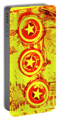 Comic Book Composite Portable Battery Charger