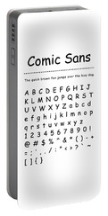 Comic Sans - Most Wanted Portable Battery Charger