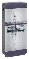 Fishing Boat Coming Home Portable Battery Charger