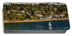 Commencement Bay,washington State Portable Battery Charger