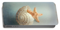 Conch Shell And Starfish Portable Battery Charger