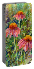 Coneflower Trio Portable Battery Charger