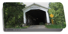 Conley's Ford Covered Bridge Portable Battery Charger