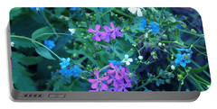 Portable Battery Charger featuring the photograph Cool Bouquet by Rosanne Licciardi