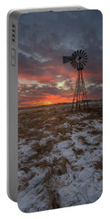 Portable Battery Charger featuring the photograph Cool Breeze  by Aaron J Groen