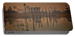 Cool Day At Viera Wetlands Portable Battery Charger