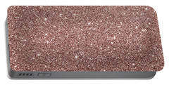 Cooper Glitter Portable Battery Charger