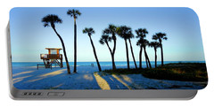 Coquina Palms Portable Battery Charger