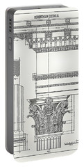 Corinthian Architecture Portable Battery Charger