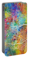 Cork Ireland City Map Portable Battery Charger