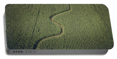 Portable Battery Charger featuring the photograph Corn Field by Steve Stanger