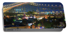 Coronado Bay Bridge Shines Brightly As An Iconic San Diego Landmark Portable Battery Charger