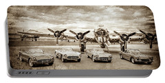 Corvettes And B17 Bomber -0027s Portable Battery Charger