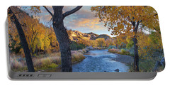 Cottonwoods Along The Rio Grande, Wild Portable Battery Charger