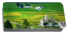 Country Church Portable Battery Charger