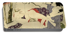 Couple Making Love Near A Room Divider, 1799 Portable Battery Charger
