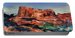 Courthouse Butte Rock - Sedona Portable Battery Charger