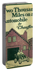 Cover Design For Two Thousand Miles On An Automobile Portable Battery Charger