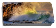 Crashing Wave Leo Carrillo Beach Portable Battery Charger