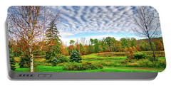 Portable Battery Charger featuring the photograph Crazy Clouds In The Finger Lakes by Lynn Bauer
