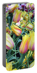 Crazy Tulips Portable Battery Charger