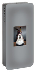 Creepy Bride Portable Battery Charger