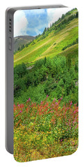 Crested Butte Wildflowers Portable Battery Charger