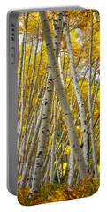 Crossed Aspens Portable Battery Charger