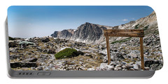 Crossroads At Medicine Bow Peak Portable Battery Charger