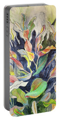 Croton Plant Portable Battery Charger