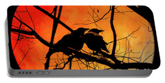 Crows Moon Portable Battery Charger