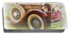 Cruise Into Tomorrow With Yesterday's Wheels Portable Battery Charger
