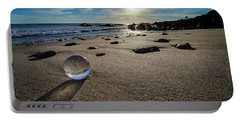 Crystal Ball Sunset Portable Battery Charger
