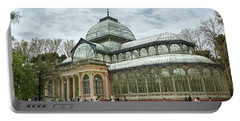 Crystal Palace - Retiro Park, Madrid, Spain Portable Battery Charger