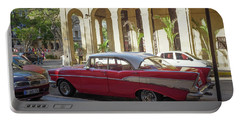 Cuban Chevy Bel Air Portable Battery Charger