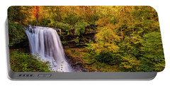 Portable Battery Charger featuring the photograph Cullasaja Falls In Full Bloom by Andy Crawford