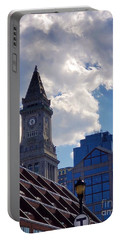 Custom House Clock Tower Portable Battery Charger