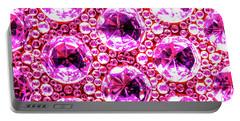 Cut Glass Beads 6 Portable Battery Charger