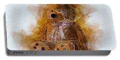 Cute Bear Portable Battery Charger