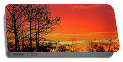Cypress Swamp Sunset 2 Portable Battery Charger